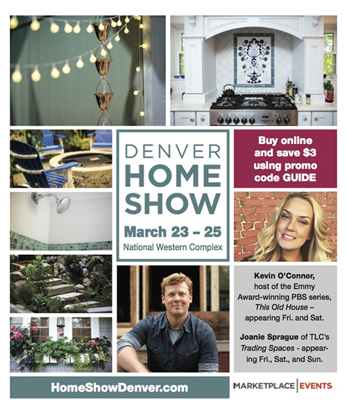 Denver Home Show Show Guide Cover